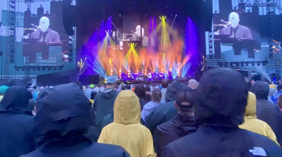 Billy Joel Hits A Fenway Park Grand Slam