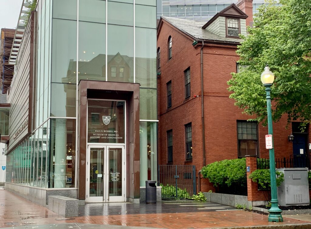 The Russell Museum of Medical History and Innovation at Massachusetts General Hospital 2 N. Grove Street Boston